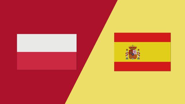 Poland vs. Spain (2018 FIL World Lacrosse Championships)