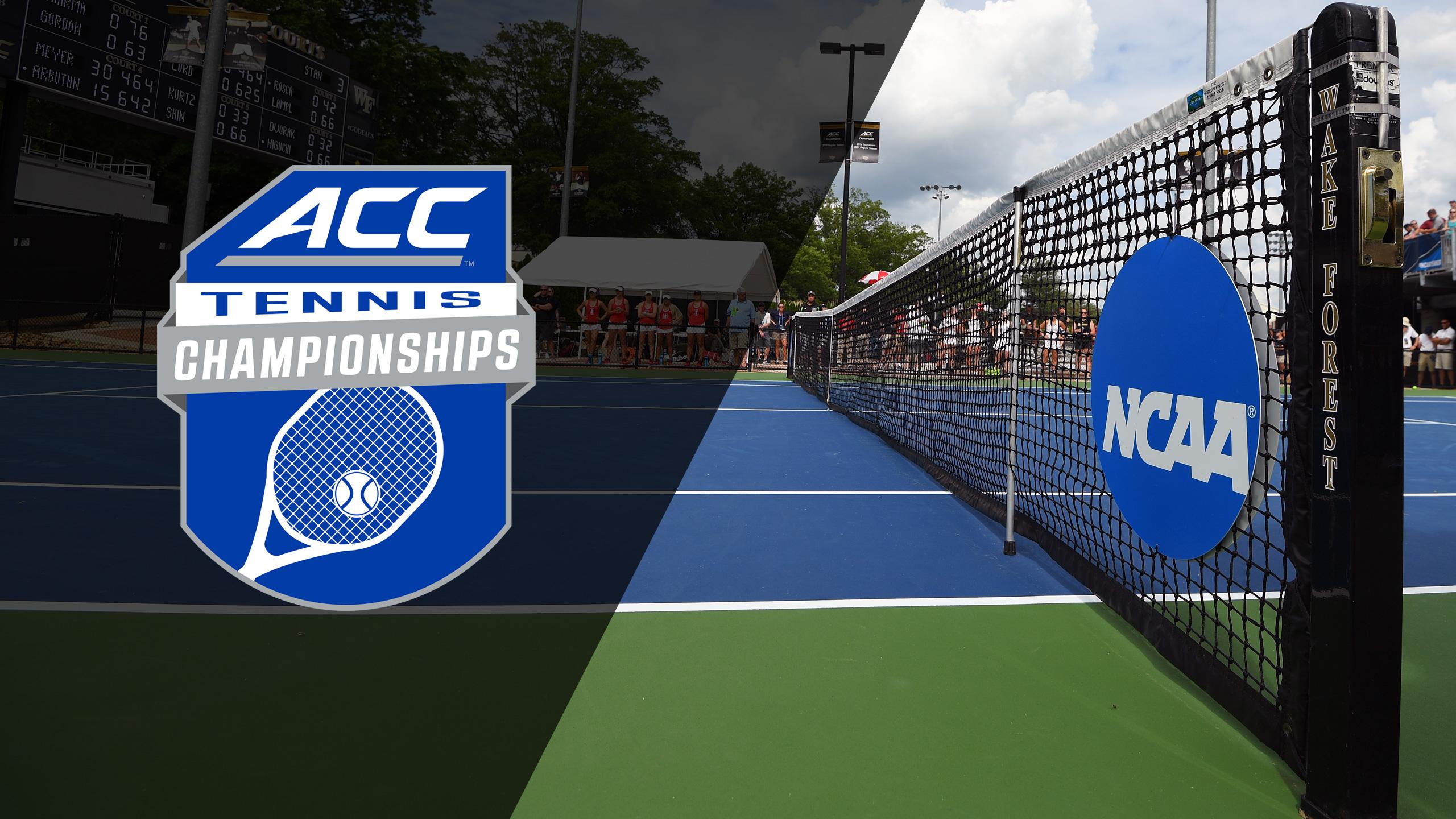 ACC Women's Tennis Championship (Women's Semifinals)