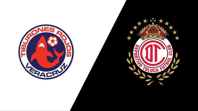 Sat, 10/12 - In Spanish-Tiburones Rojos de Veracruz vs. Diablos Rojos del Toluca (Jornada 3) (Copa MX)