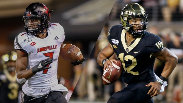 Louisville vs. #19 Wake Forest (Football)