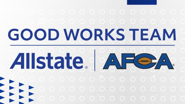The Allstate AFCA Good Works Team - SEC Edition