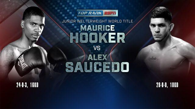 Maurice Hooker vs. Alex Saucedo