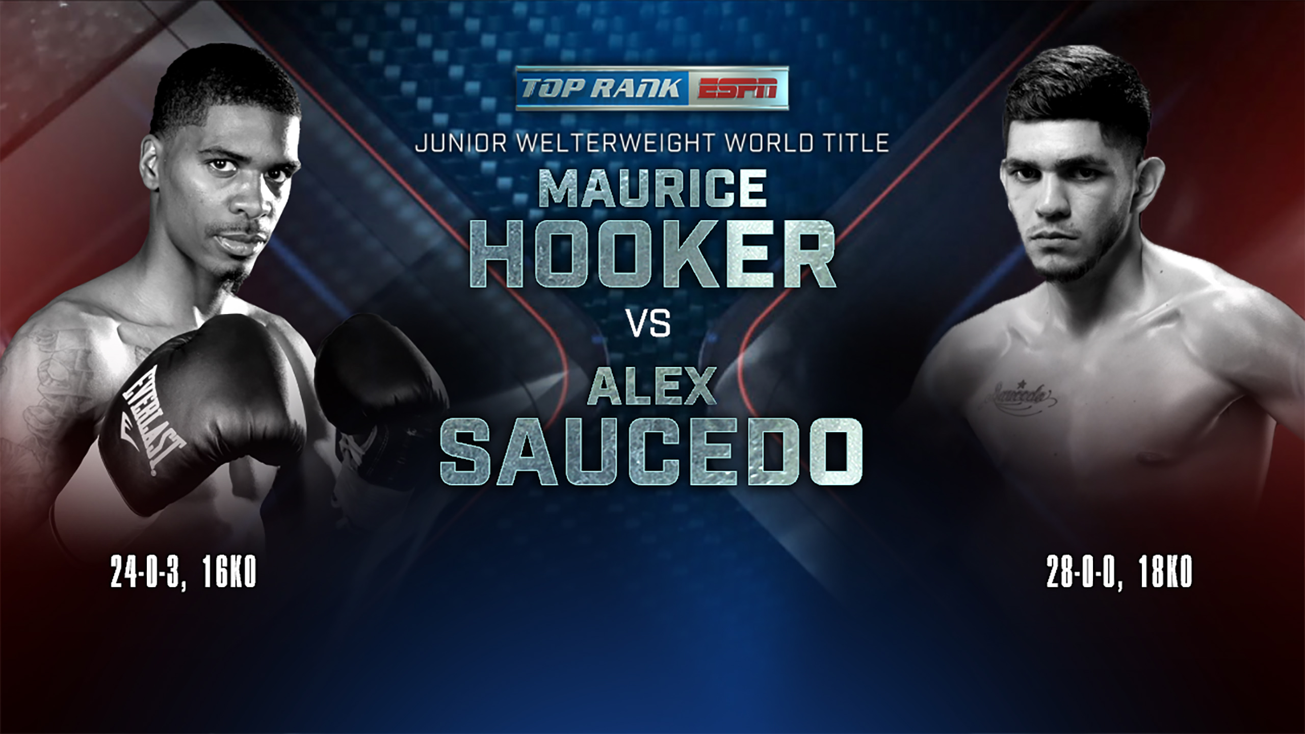 In Spanish - Maurice Hooker vs. Alex Saucedo