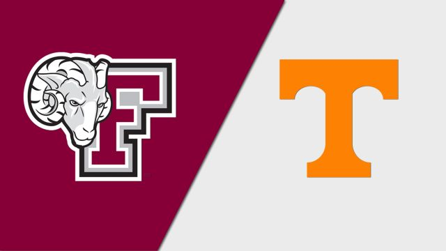 Fordham vs. #10 Tennessee (W Soccer)