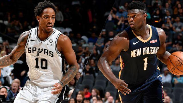 In Spanish-San Antonio Spurs vs. New Orleans Pelicans
