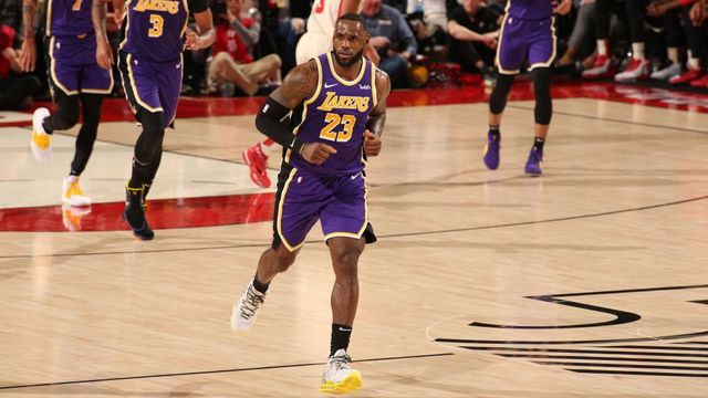 Los Angeles Lakers vs. Portland Trail Blazers