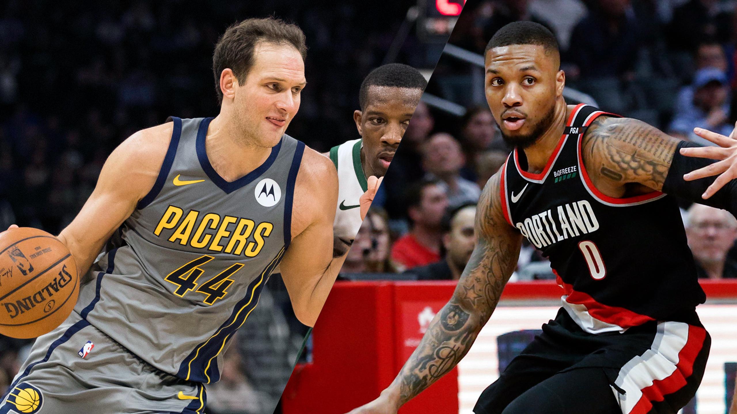 Indiana Pacers vs. Portland Trail Blazers
