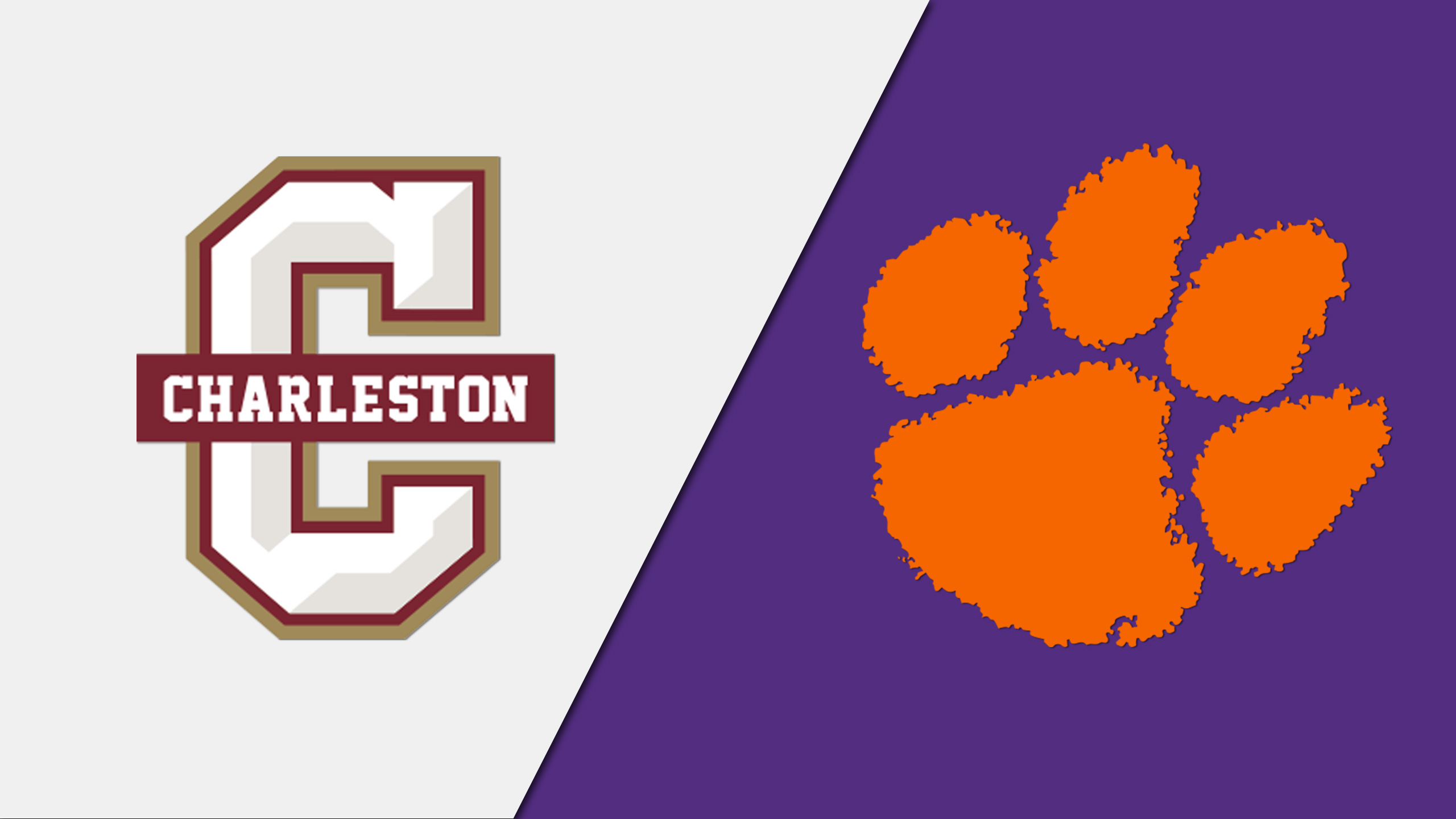 College of Charleston vs. Clemson (Third Round) (NIVC Volleyball Tournament)