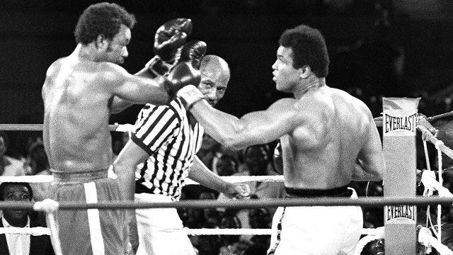 Classic Boxing: Ali vs. Foreman