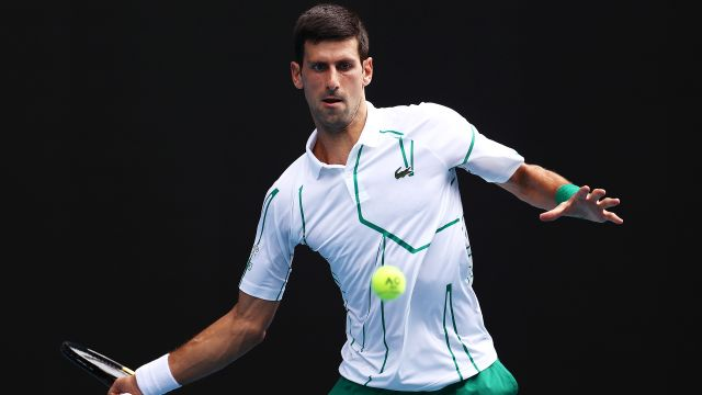 (2) Djokovic vs. (14) Schwartzman (Men's Fourth Round)
