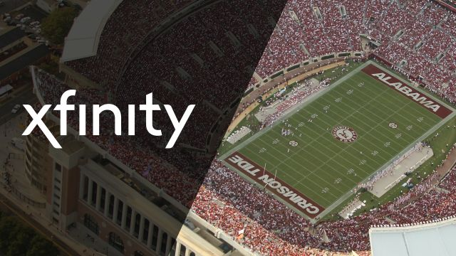 Xfinity SkyCam: Tennessee vs. Alabama (Football)