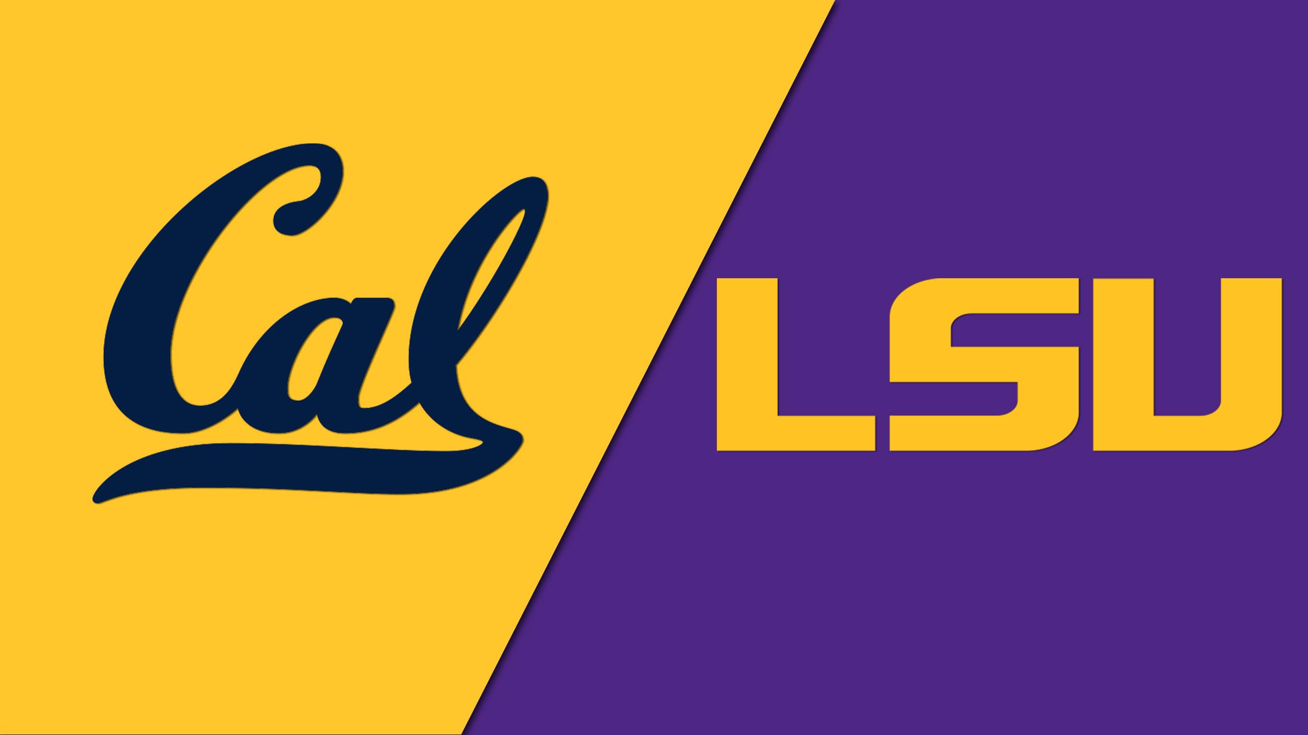 California vs. LSU (NCAA Women's Gymnastics)
