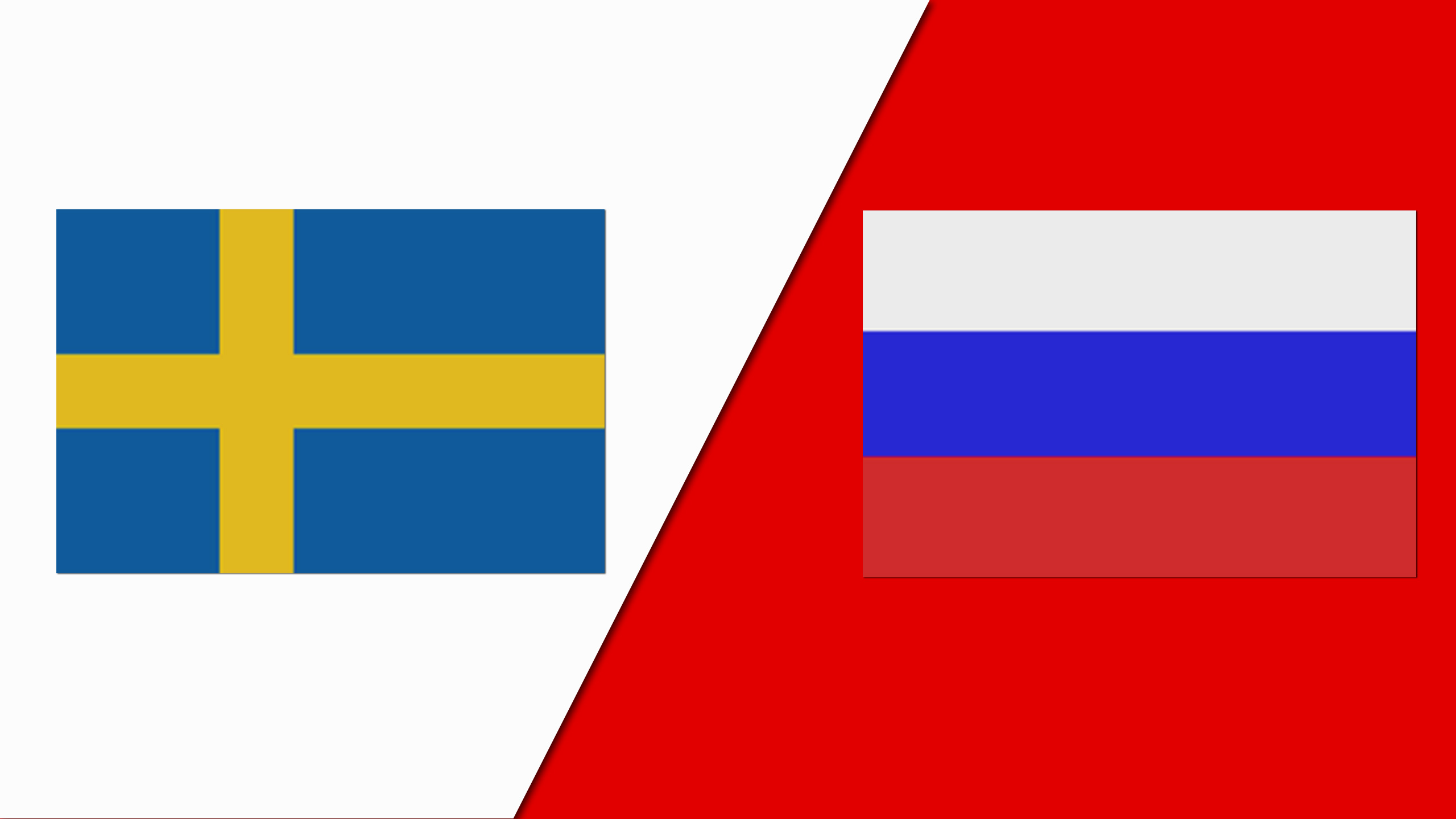 Sweden vs. Russia