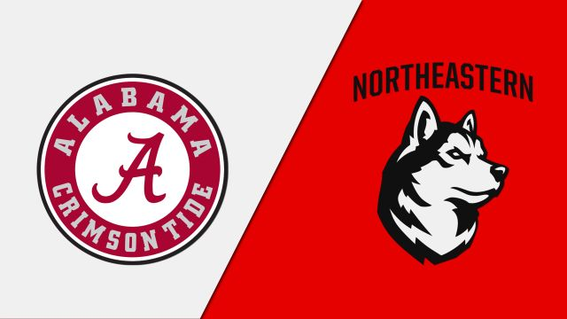 Alabama vs. Northeastern (Quarterfinal #2)