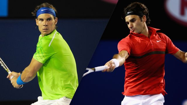 Rafael Nadal vs. Roger Federer (Men's Semifinal #1)