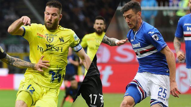 Chievo vs. Sampdoria