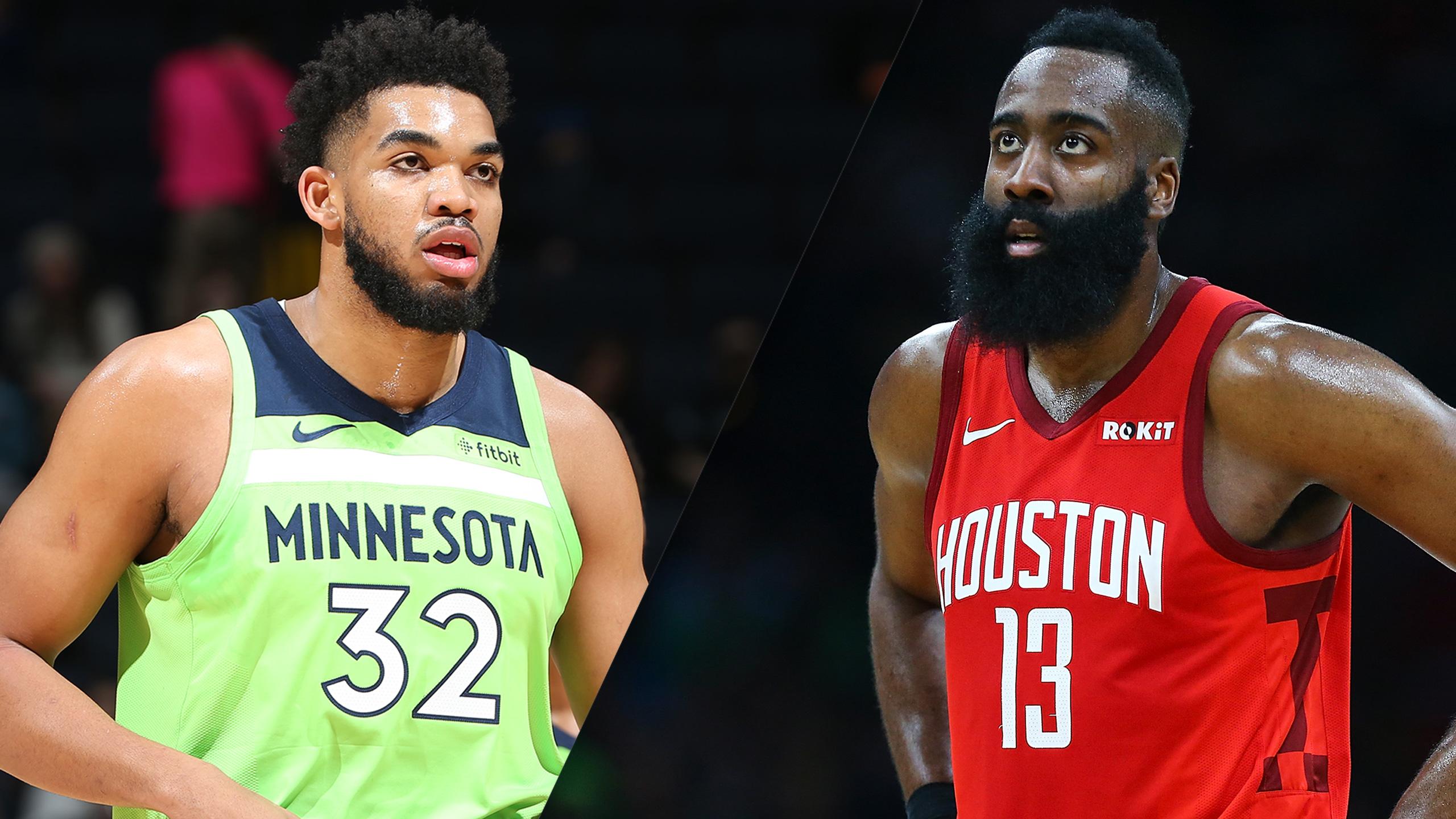 Minnesota Timberwolves vs. Houston Rockets