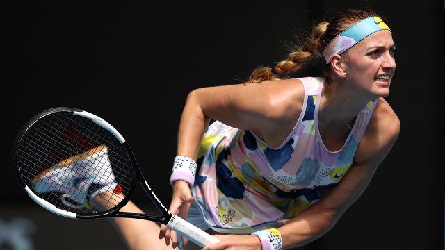 (7) Kvitova vs. (25) Alexandrova (Women's Third Round)