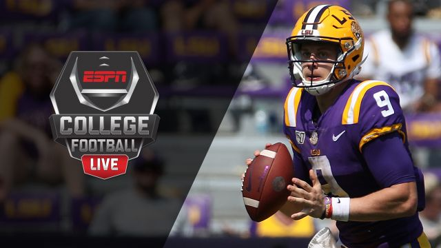 Fri, 10/11 - College Football Live Presented by Mazda