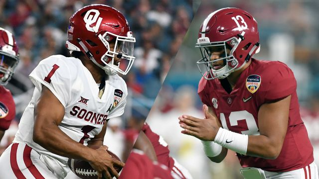 #4 Oklahoma vs. #1 Alabama (re-air)
