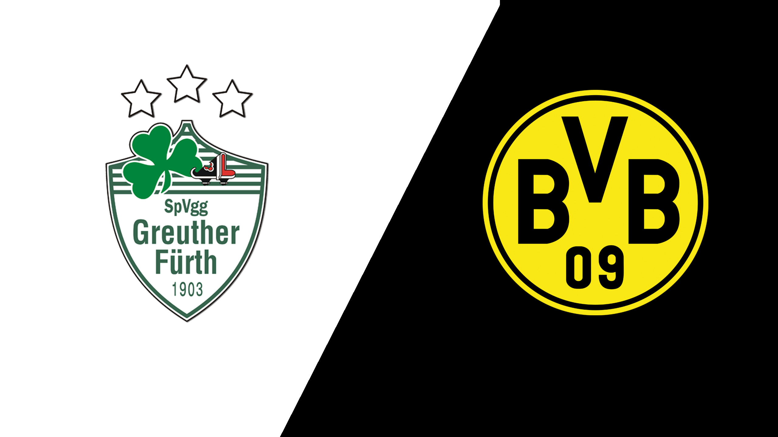 In Spanish - Greuther Furth vs. Borussia Dortmund (Round 1) (German Cup)