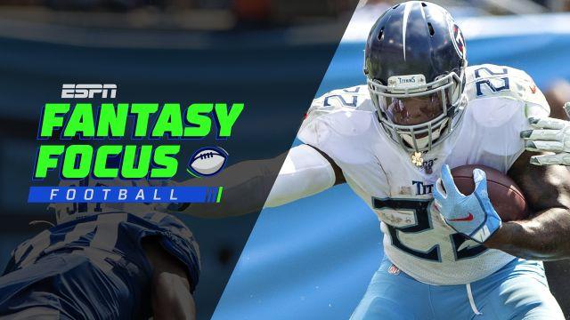 Fantasy Focus Live! Who to start in Jaguars vs. Titans