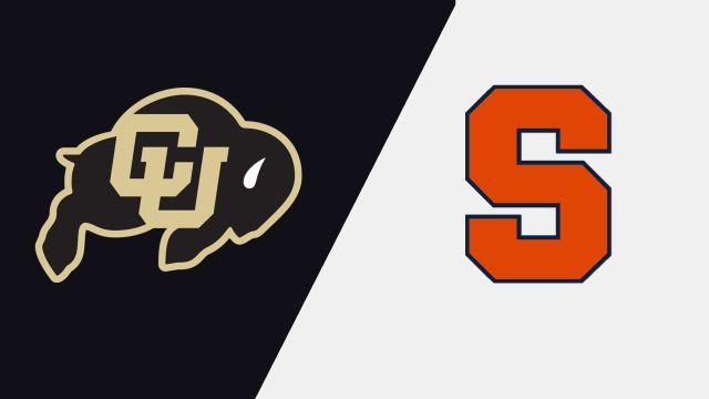 Colorado vs. Syracuse