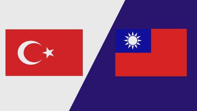 Turkey vs.  Chinese Taipei