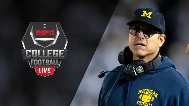 Wed, 10/23 - College Football Live Presented by Mazda