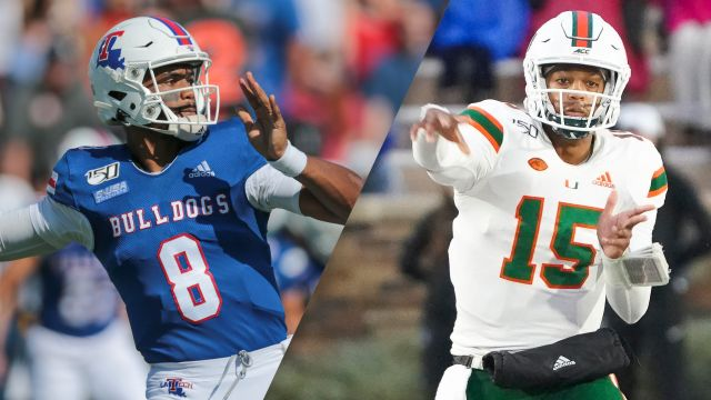 Louisiana Tech vs. Miami (Bowl Game)