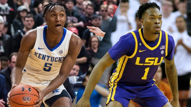 #10 Kentucky vs. LSU (M Basketball)