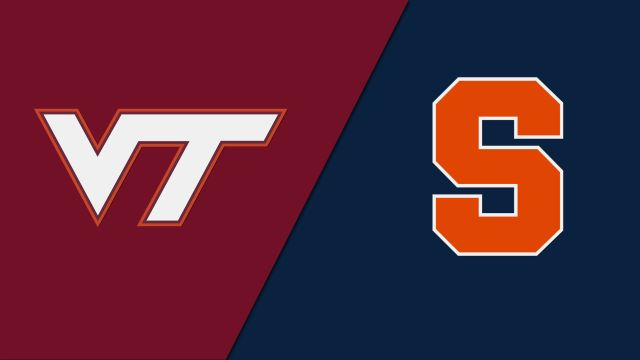 Virginia Tech vs. Syracuse (W Volleyball)