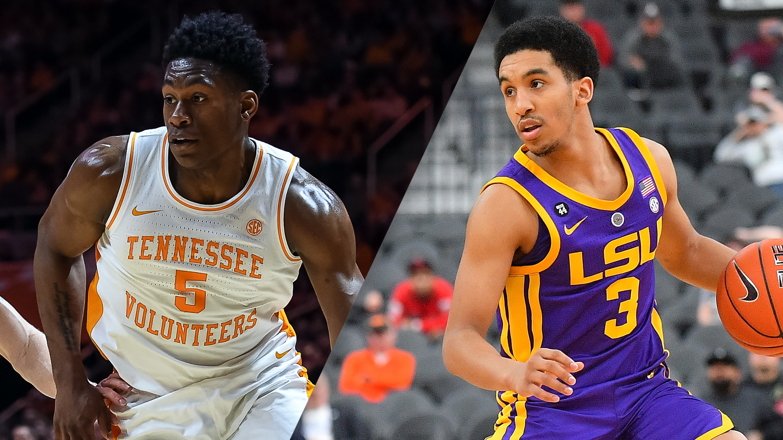 #5 Tennessee vs. #13 LSU (M Basketball) (re-air)