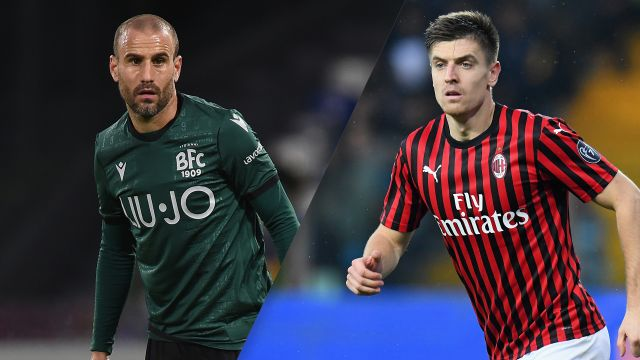 In Spanish-Bologna vs. AC Milan (Serie A)