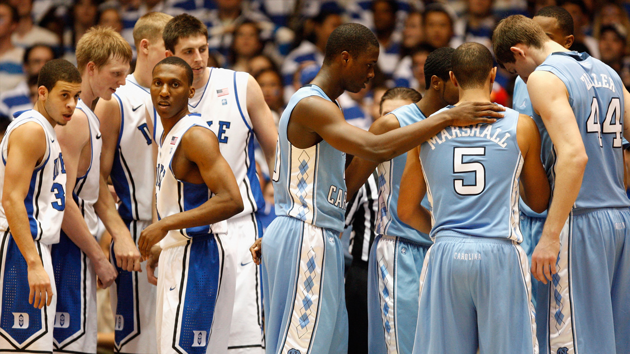 #20 North Carolina vs. #5 Duke (Outermarket) - 2/9/2011 (re-air)