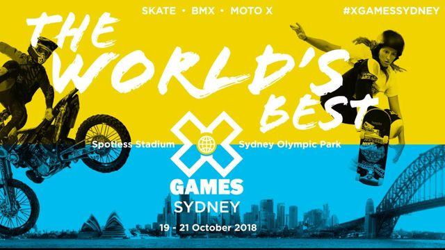 X Games Sydney: Skateboard Big Air Final