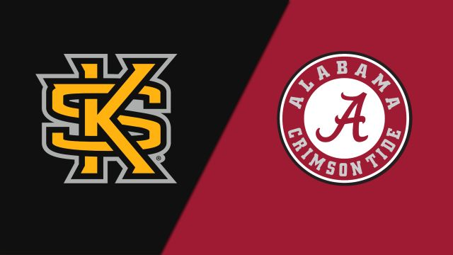 Kennesaw State vs. Alabama (W Volleyball)