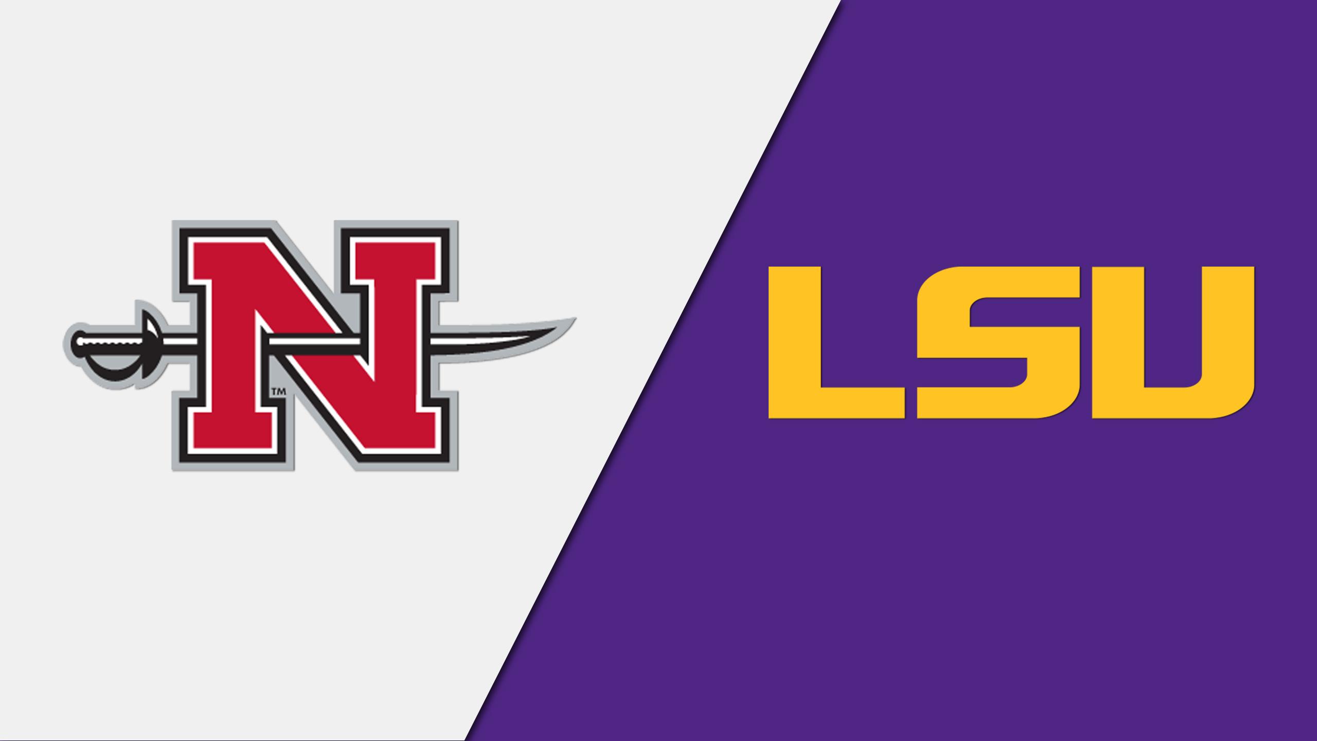 Nicholls vs. LSU (Softball)
