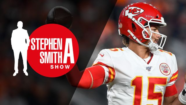 Fri, 10/18 - The Stephen A. Smith Show Presented by Progressive