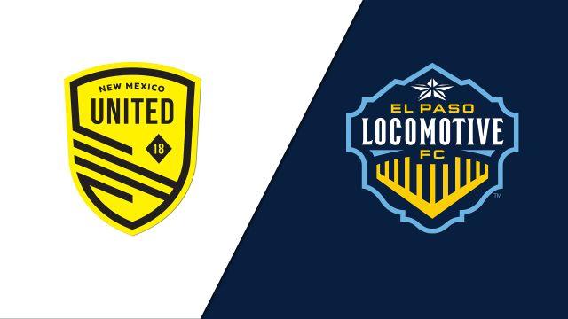 New Mexico United vs. El Paso Locomotive FC (USL Championship)