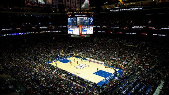 Above the Rim Cameras-Boston Celtics vs. Philadelphia 76ers