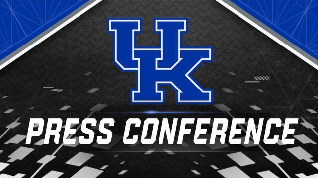 Kentucky Football Press Conference