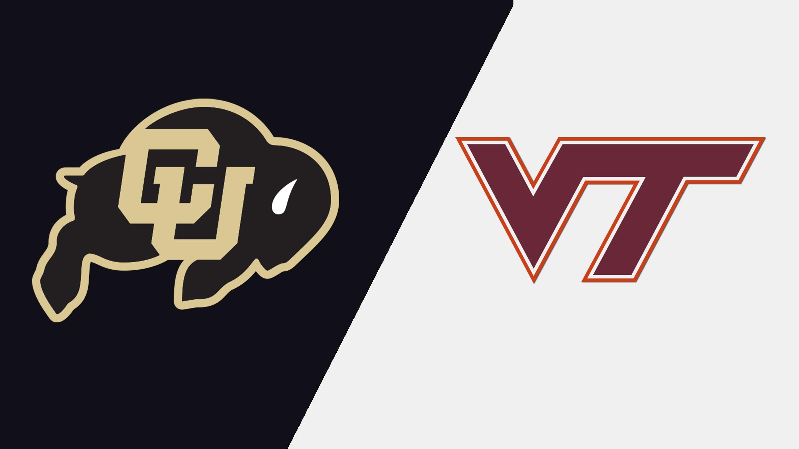 #20 Colorado vs. #12 Virginia Tech (W Lacrosse)