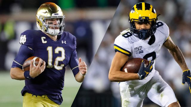 In Spanish-#8 Notre Dame vs. #19 Michigan (Football)