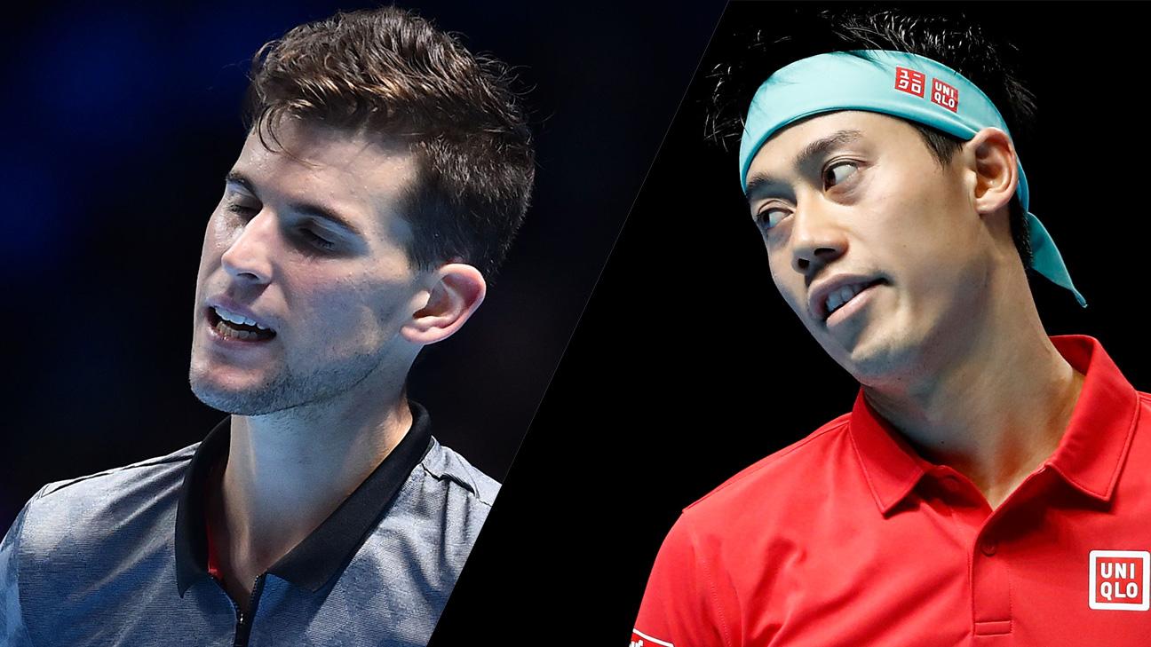 (6) Thiem vs. (7) Nishikori (Round Robin)