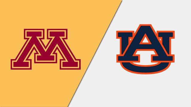 Minnesota vs. Auburn (Softball)