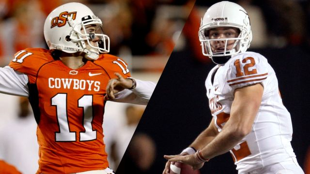 #3 Texas vs. #14 Oklahoma State (re-air)