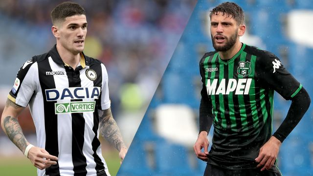 Udinese vs. Sassuolo