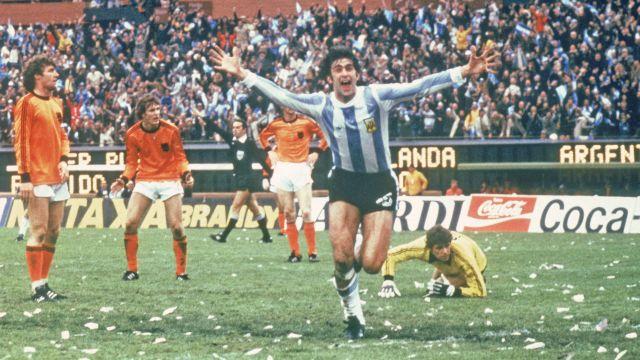 Argentina x Holanda  em 1978