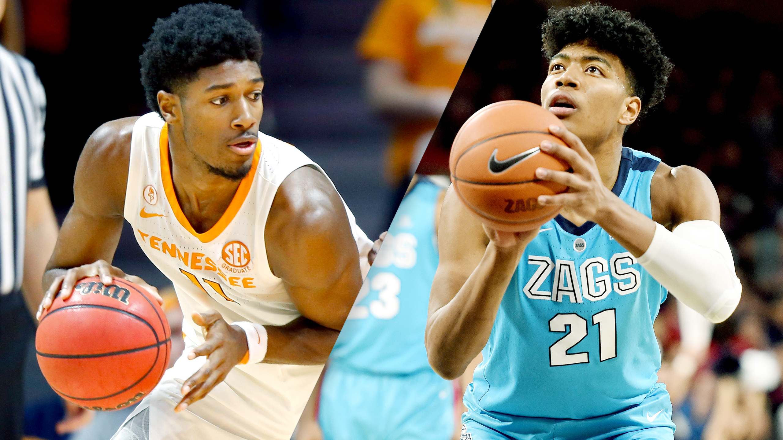 #7 Tennessee vs. #1 Gonzaga (M Basketball) (re-air)
